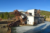 Sumpter Valley Dredge State Park in Sumpter, Oregon